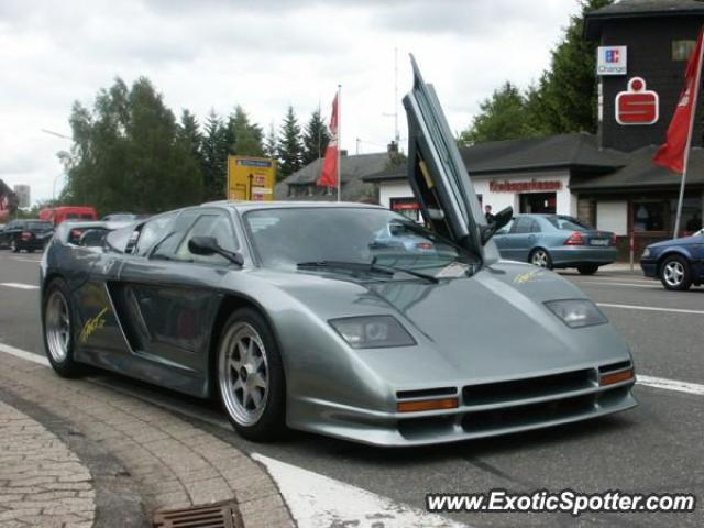 Zender Fact 4 spotted in Nurburgring, Germany