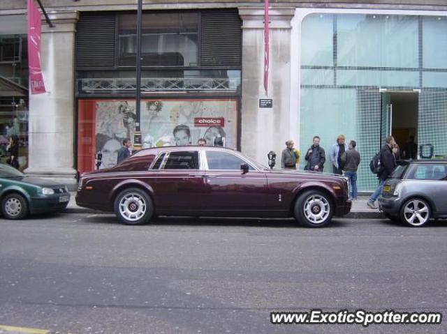 Rolls Royce Phantom spotted in London, United Kingdom