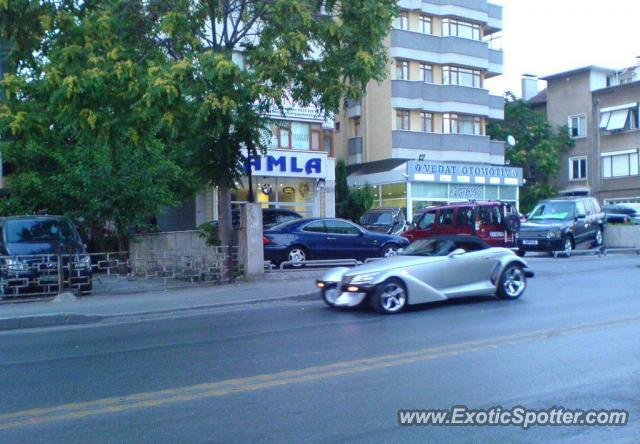 Plymouth Prowler spotted in Istanbul, Turkey