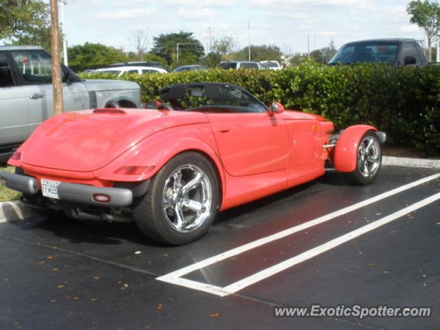 Plymouth Prowler spotted in Ft. Lauderdale, Florida