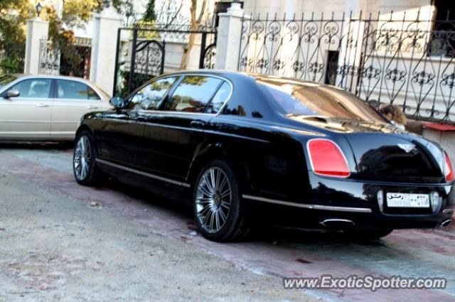 Bentley Continental spotted in Damascus, Syria