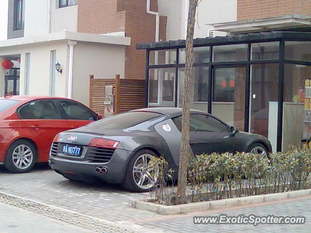 Audi R8 spotted in Beijing, China