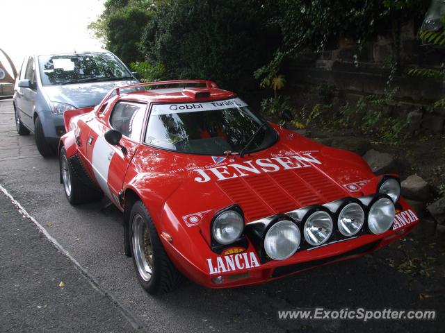 Lancia Stratos spotted in Nottingham, United Kingdom