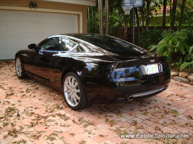 Aston Martin DB Spotted In BRADENTON Florida On - Aston martin florida