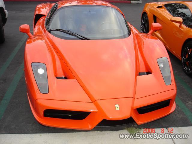 Ferrari Enzo Spotted In Calabasas California