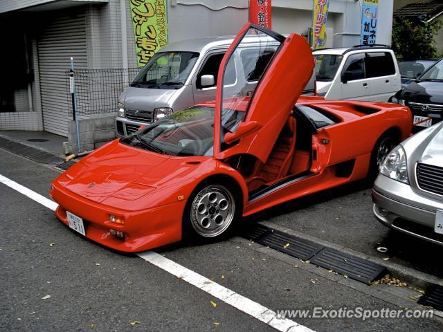 Lamborghini Diablo Spotted In Tokyo Japan On 08 01 2009
