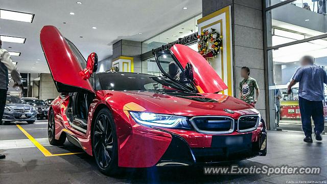 Bmw I8 Spotted In Pavilion Kl Malaysia On 01 02 2016