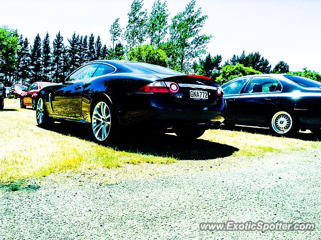 Jaguar XKR spotted in Christchurch, New Zealand