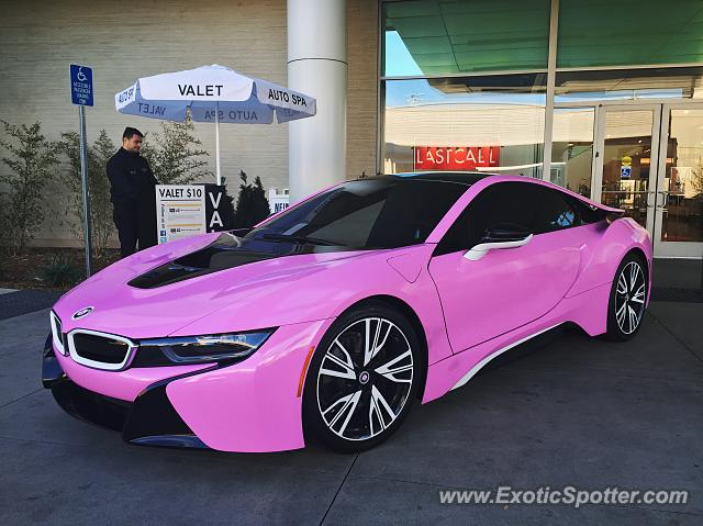 Bmw I8 Spotted In Woodland Hills California On 01 13 2016