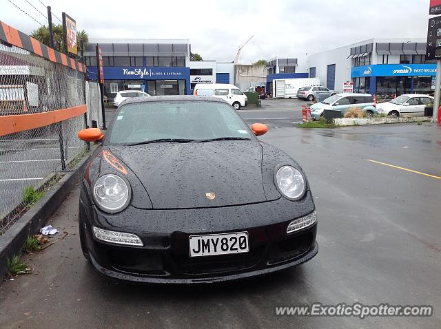Porsche 911 GT3 spotted in Christchurch, New Zealand