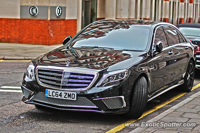 Mercedes S65 Amg Spotted In London United Kingdom