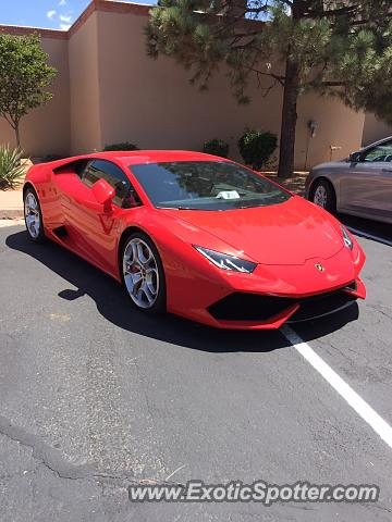 lamborghini huracan spotted in santa fe new mexico on 08 12 2015. Black Bedroom Furniture Sets. Home Design Ideas