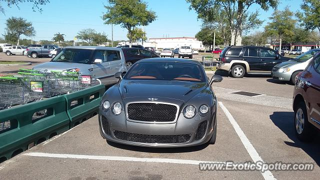Bentley Continental spotted in Riverview, Florida