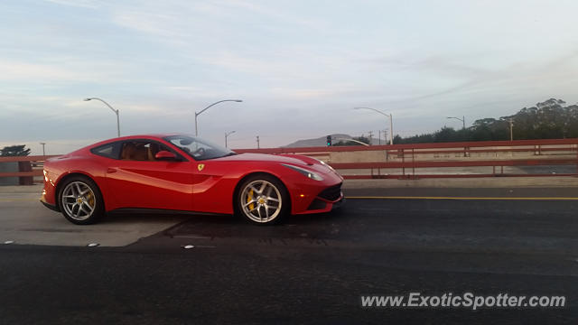 ferrari f12 spotted in san francisco california on 02 14 2016. Cars Review. Best American Auto & Cars Review