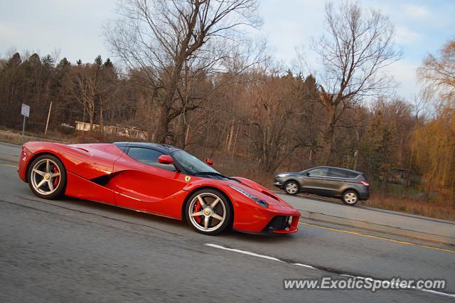 Ferrari Laferrari Spotted In Victor New York On 12082015