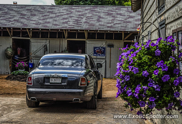 Rolls-Royce Phantom spotted in Saratoga Springs, New York
