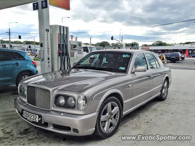 Bentley Arnage spotted in Christchurch, New Zealand