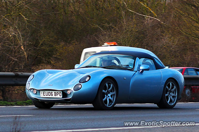 TVR Tuscan spotted in Cambridge, United Kingdom
