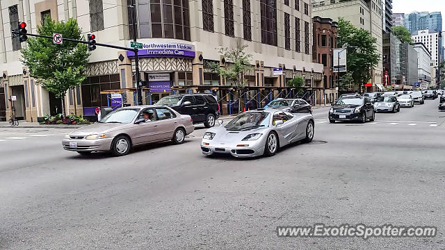 Mclaren F1 spotted in Chicago, Illinois