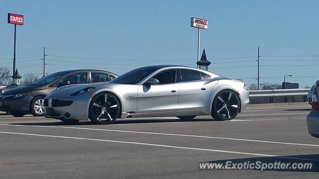 Fisker Karma spotted in Crescent Springs, Kentucky