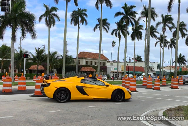 Mclaren 650S spotted in Palm Beach, Florida