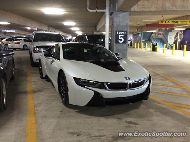 BMW I8 spotted in Houston, Texas