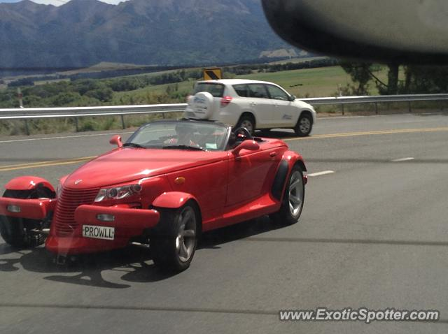 Plymouth Prowler spotted in Hanmer Springs, New Zealand