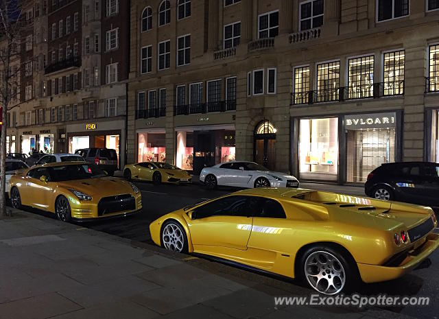 Lamborghini Diablo spotted in London, United Kingdom
