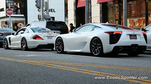Lexus LFA Spotted In Beverly Hills, California