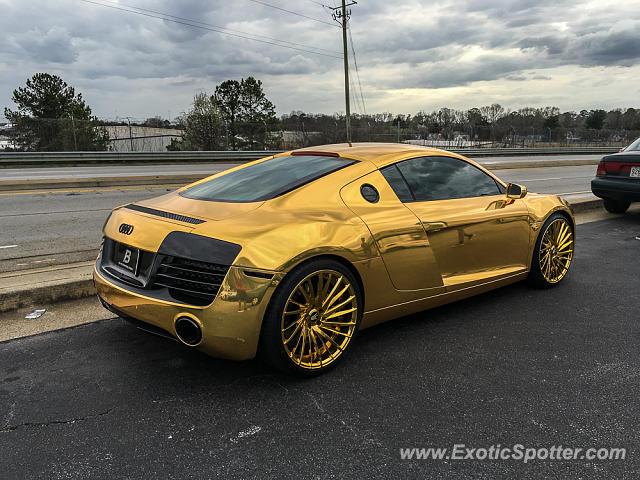 Audi R8 Spotted In Atlanta Georgia On 03 12 2016 Photo 2