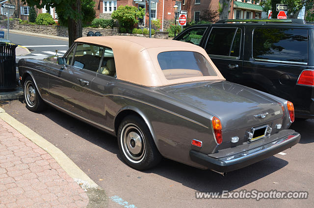Rolls-Royce Corniche spotted in Doylestown, Pennsylvania
