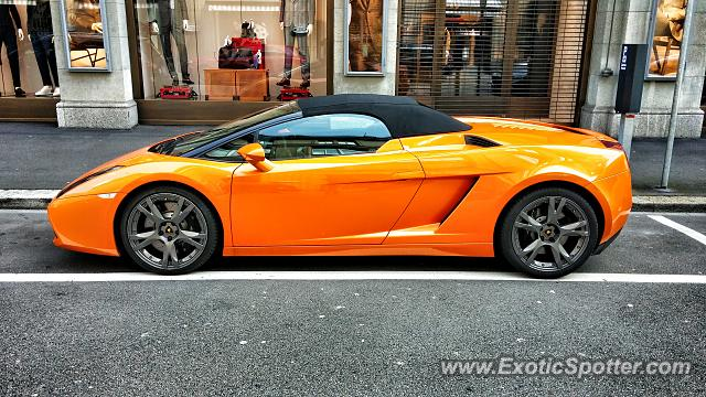 Lamborghini Gallardo Spotted In Zurich Switzerland On 04