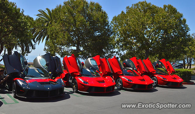 Ferrari Laferrari Spotted In Newport Beach California On 04 02 2016