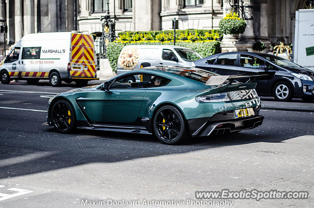 Aston United Kingdom  City pictures : Aston Martin Vantage spotted in London, United Kingdom on 04/02/2016