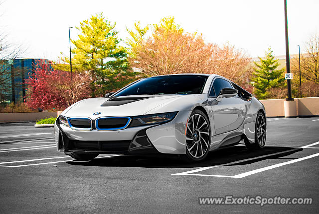 BMW I8 spotted in McLean, Virginia