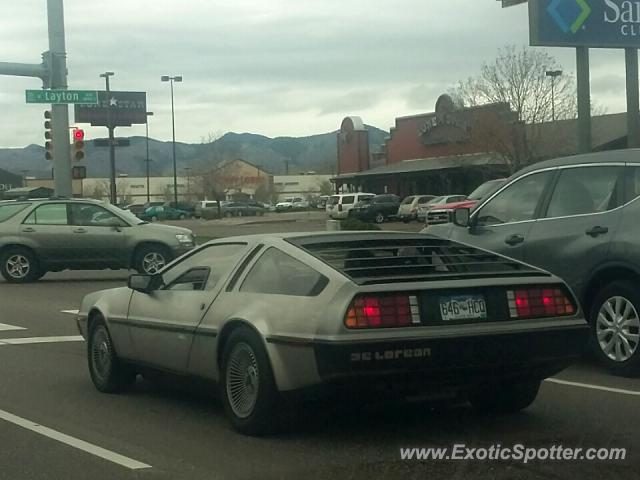 DeLorean DMC-12 spotted in Littleton, Colorado