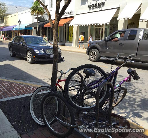 Bentley Continental Flying Spur Limousine By Exotic Limo: Bentley Flying Spur Spotted In Key West, Florida On 03/19/2016