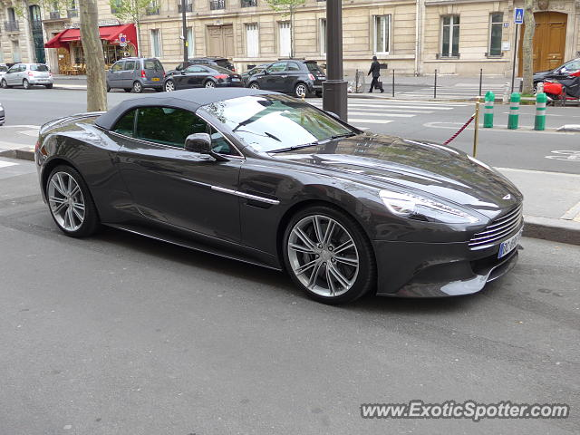 aston martin vanquish spotted in paris france on 04 23 2016. Black Bedroom Furniture Sets. Home Design Ideas
