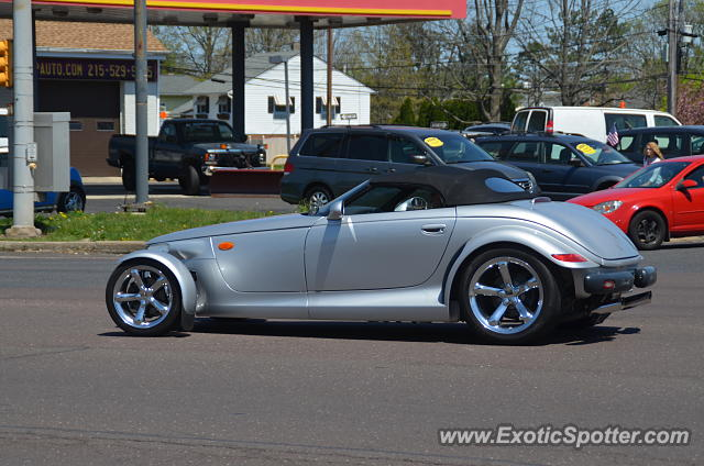 Plymouth Prowler spotted in Quakertown, Pennsylvania