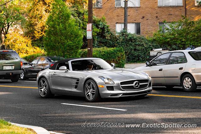 Mercedes sls amg spotted in arlington virginia on 04 26 2016 for Mercedes benz of arlington va