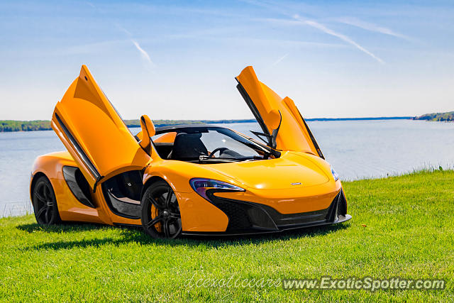 Mclaren 650S spotted in North East, Maryland