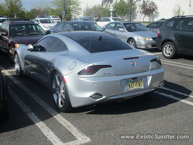 Fisker Karma spotted in Freehold, New Jersey