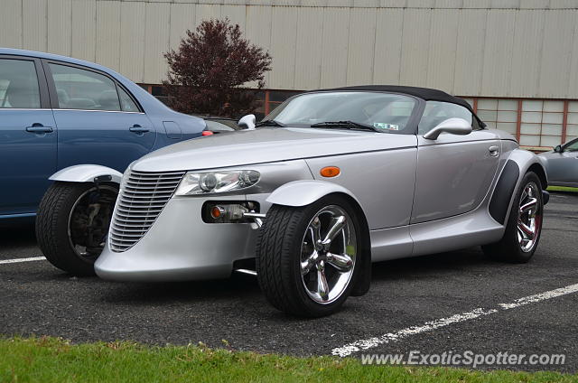 Plymouth Prowler spotted in Colmar, Pennsylvania