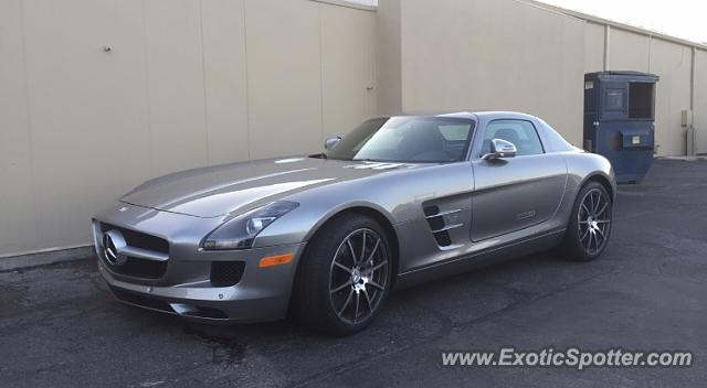 Mercedes sls amg spotted in wichita kansas on 05 03 2016 for Mercedes benz wichita ks