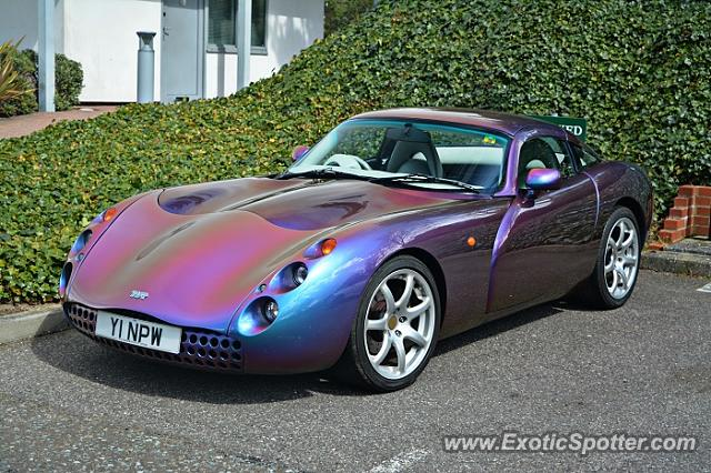 TVR Tuscan spotted in Brooklands, United Kingdom