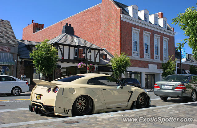 Nissan GT-R spotted in Burlingame, California