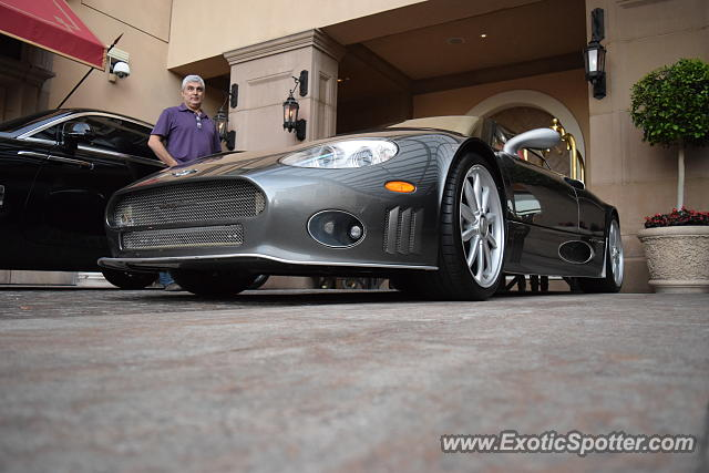Spyker C8 spotted in Beverly Hills, California