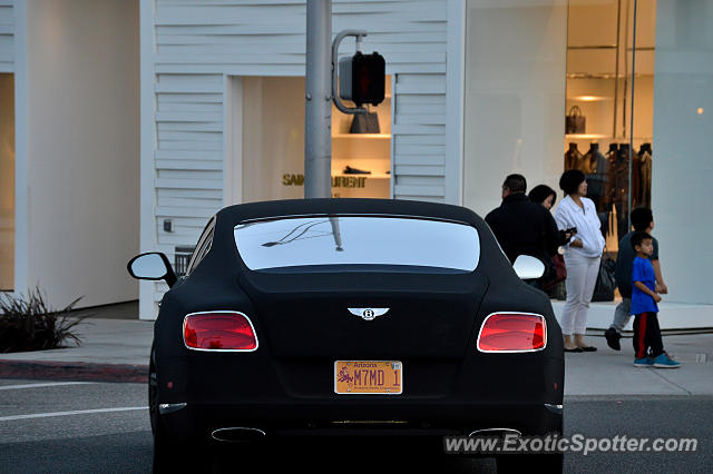 Bentley Continental spotted in Beverly Hills, California