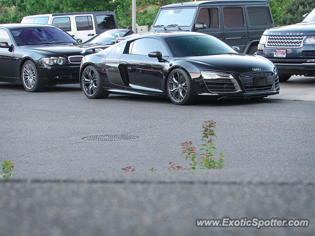 Audi R8 spotted in DTC, Colorado