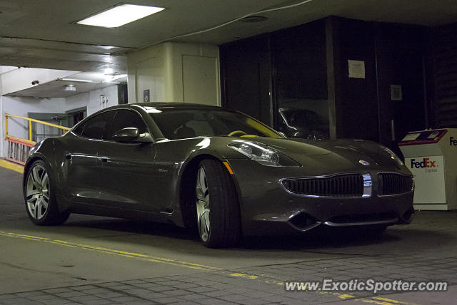 Fisker Karma spotted in Chicago, Illinois